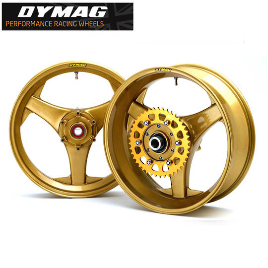 Classic Dymag TT3 Cast Magnesium wheels (Set Front and Rear)