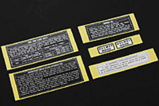 47-2009 Caution Labels