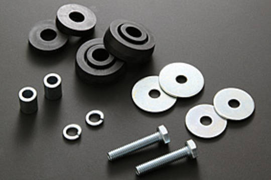 81-1256 Rear Guard Rubber Mount Kit
