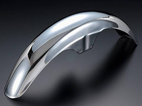 81-1381 Front Fender Chrome