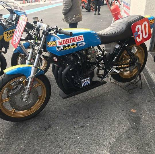 Wayne Gardner Moriwaki Replica - Limited Edition - #4 of 10