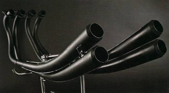 MRS-H75-M01B Replica CR750 racing style PIPES